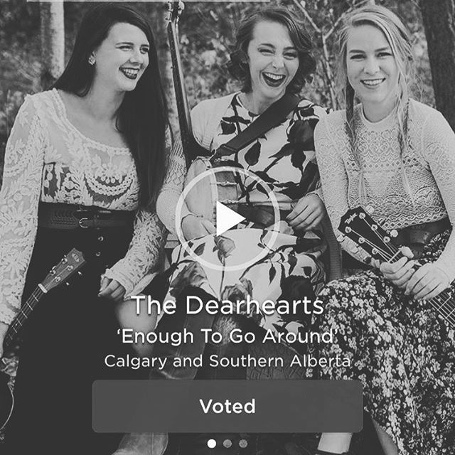 Last chance! Voting ends at noon today. Get 'em in folks! Link in bio!