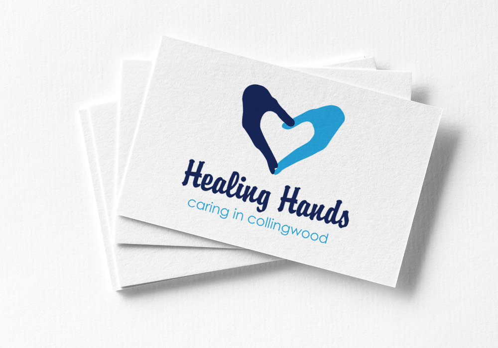 HEALING HANDS   : BRAND IDENTITY + GRAPHIC DESIGN  view more...