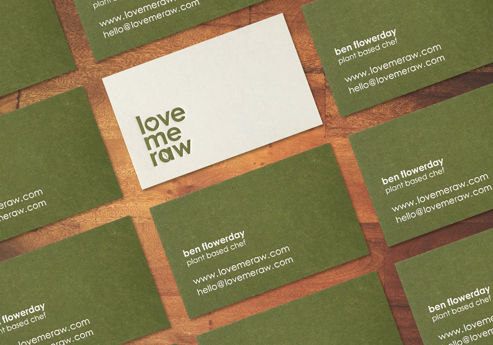 LOVE ME RAW  : BRAND IDENTITY + GRAPHIC DESIGN  view more...