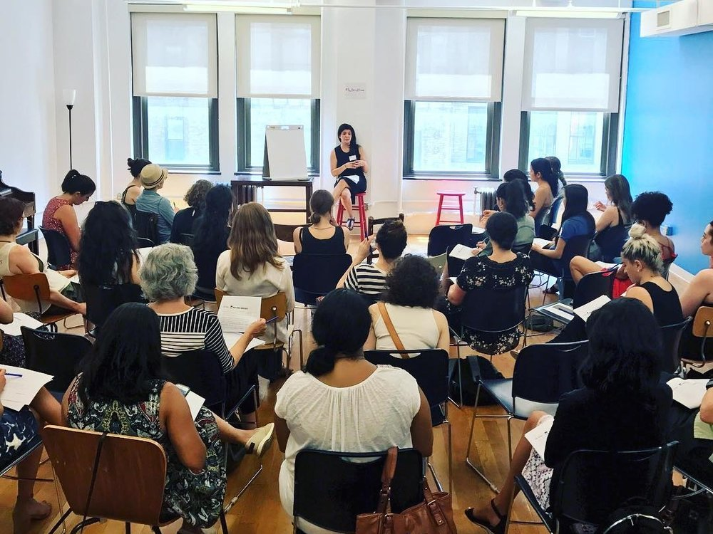 4 - events hosted by The Broad Room, where we've trained women, phone banked, and networked with other incredible activists.