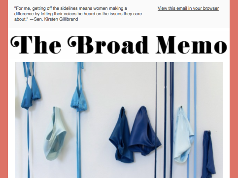 +1,000 - women subscribed to The Broad Memo.
