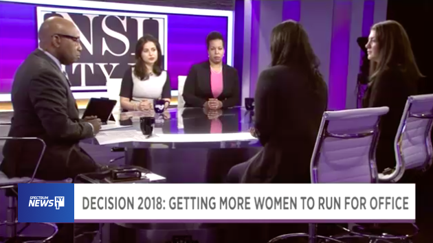 - NY1: Women in Politics: A Growing Movement 1.17.18