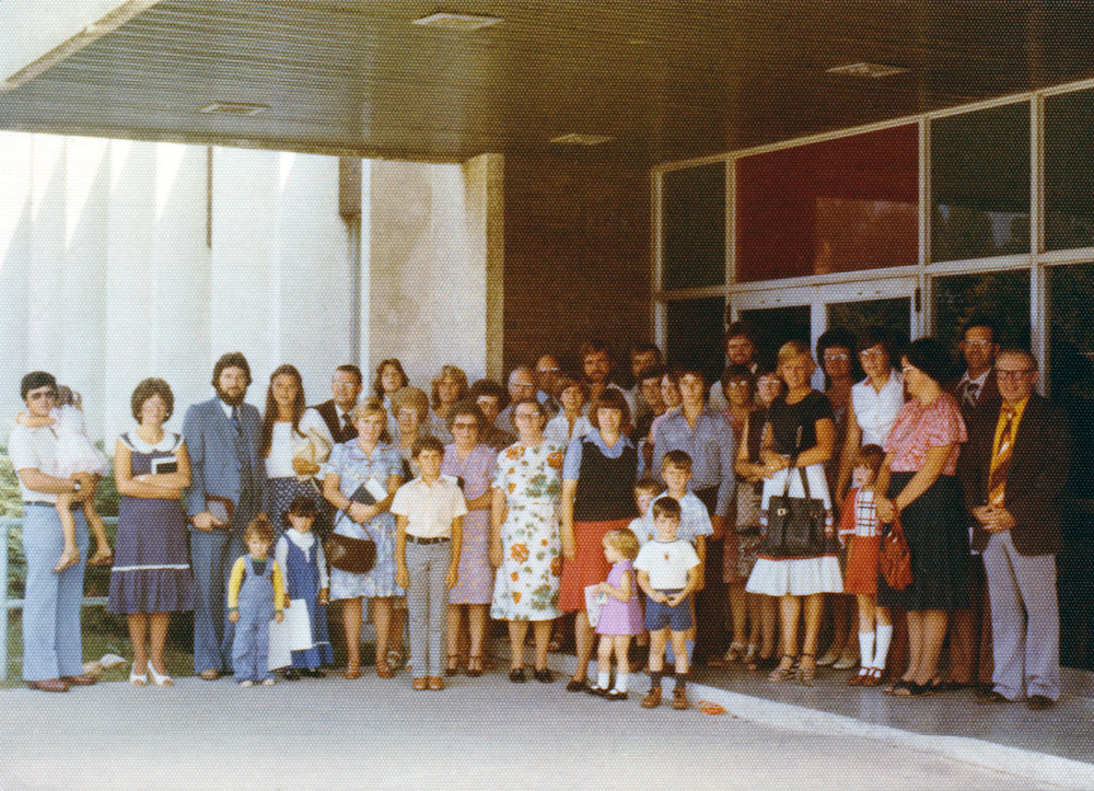 BB congregation in the late 70s.