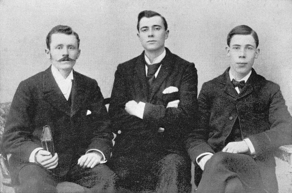 Sudan Interior Mission Pioneers, 1893. Walter Gowans, Thomas Kent, Rowland V. Bingham.