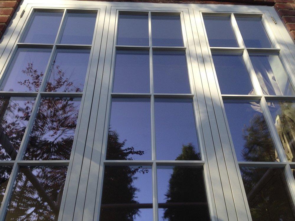 Casement windows installed