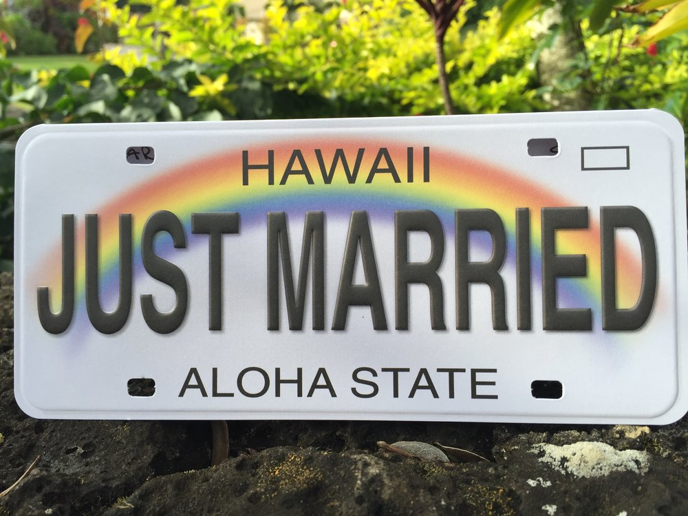 Just Married sign strong.JPG