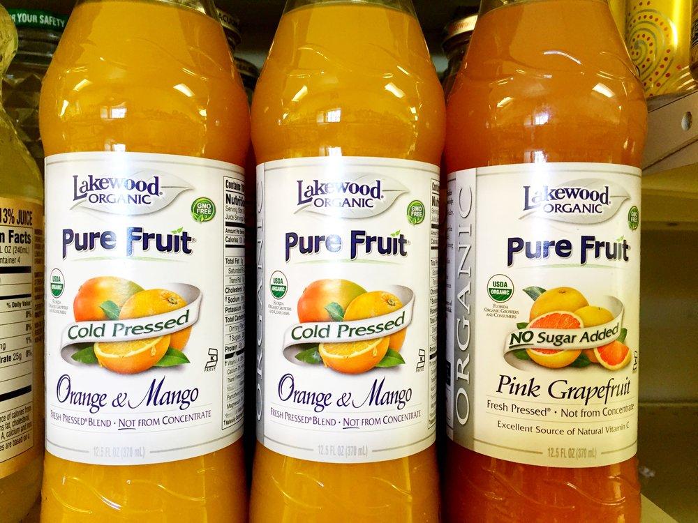 Lakewood organic pure fruit