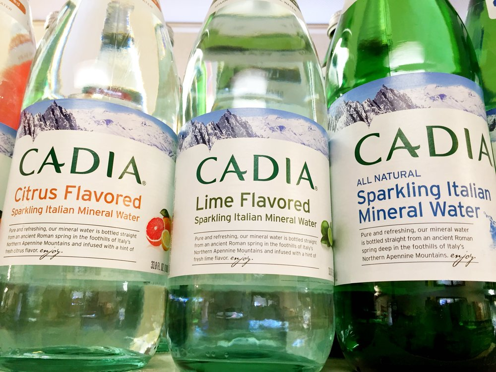Cadia sparkling water