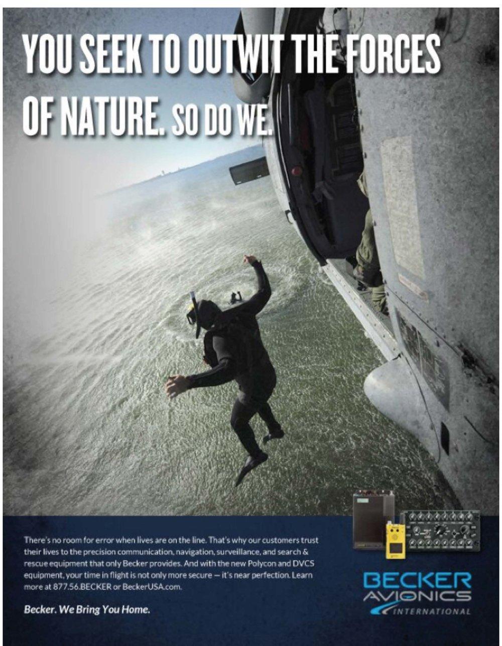 Becker Print Ad Campaign
