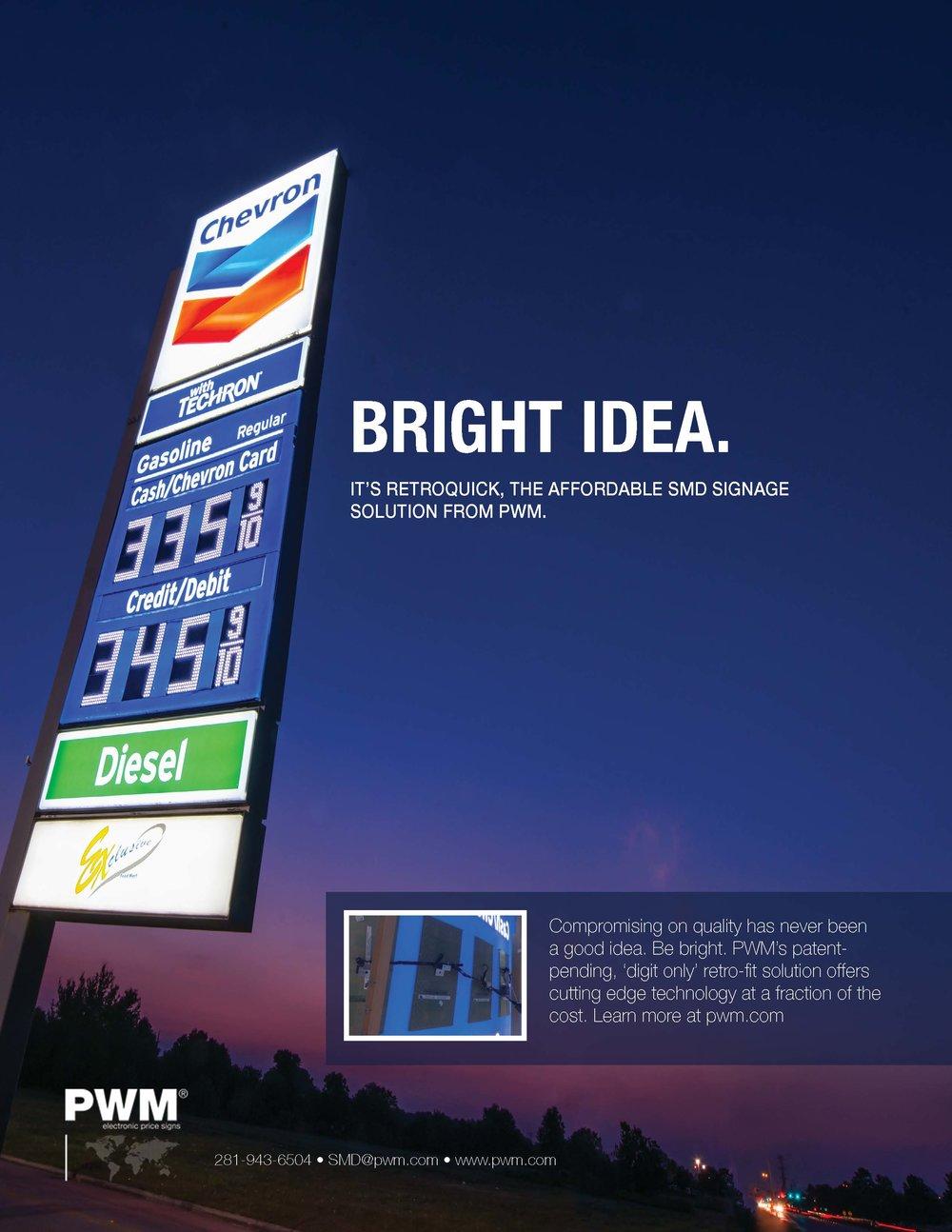 PWM Print Ad