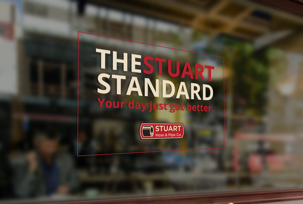 Stuart window cling