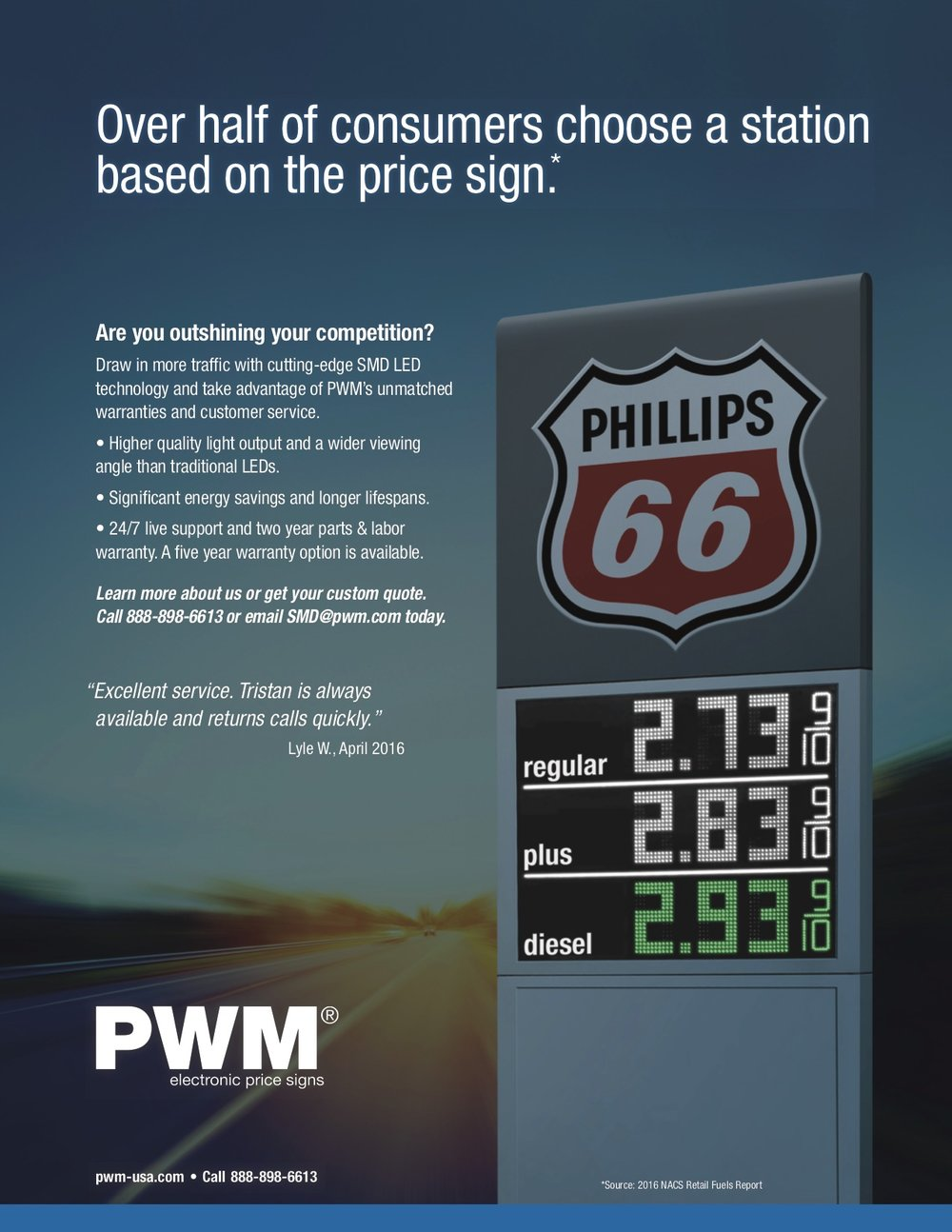 PWM: Sales Flyer