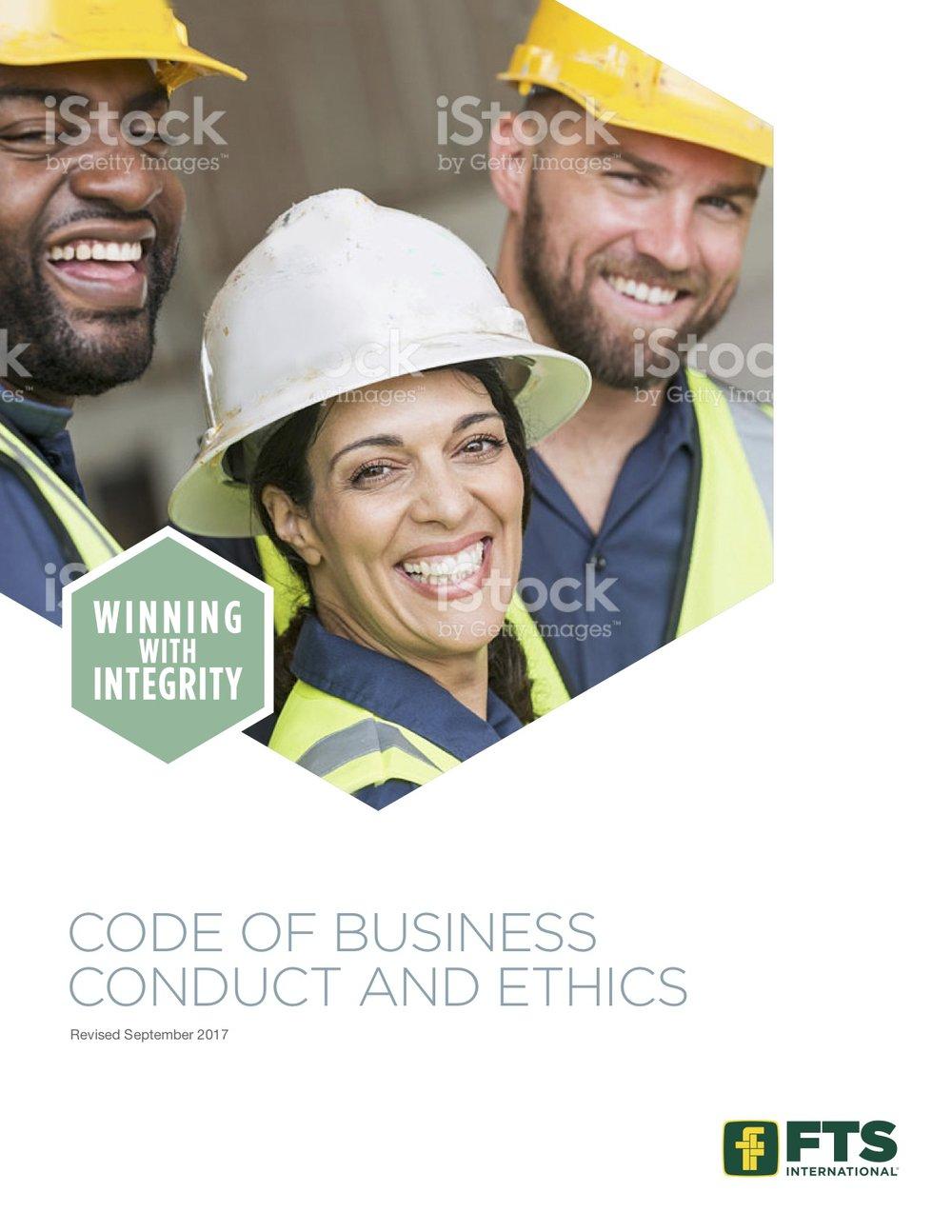 FTSI: Code of Conduct
