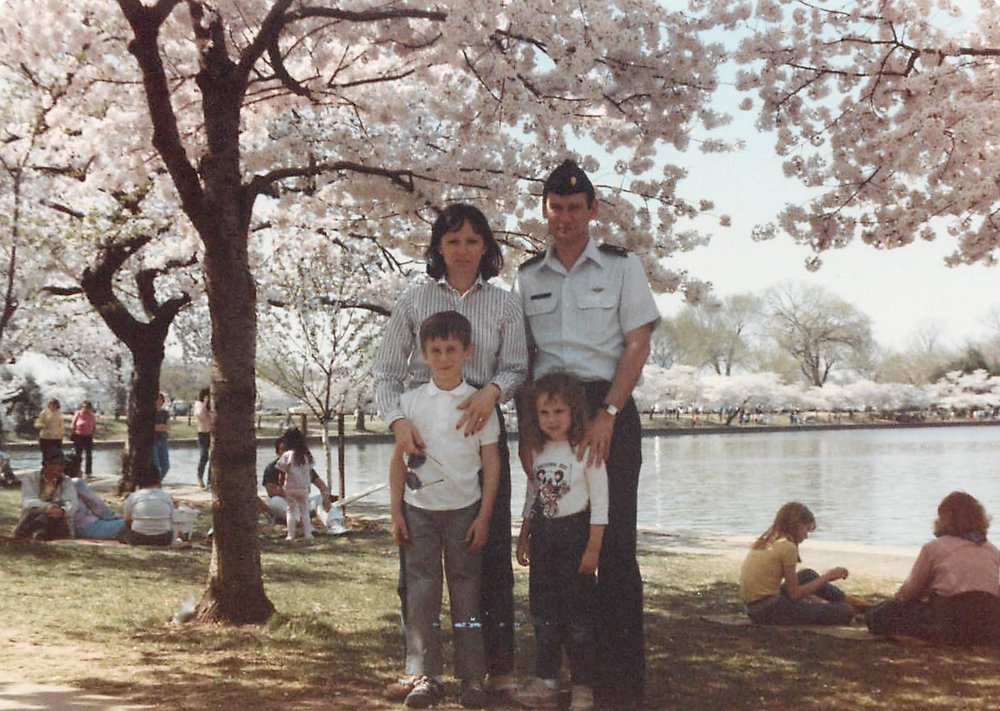 We lived near Washington DC for a few years when my father was stationed at the Pentagon.