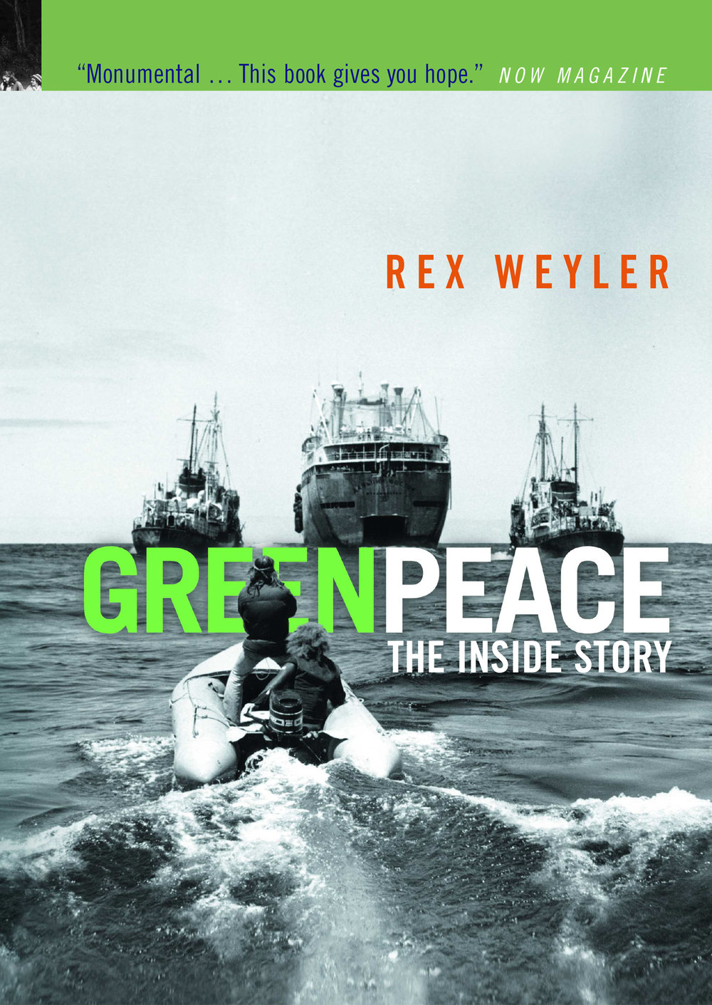 Greenpeace: The Inside Story - Greenpeace: The Inside Storyrecounts the definitive history of the world's most renowned ecology action group. Beginning in the 1960s, the story follows our small cadre of peace activists, as we set out to start an