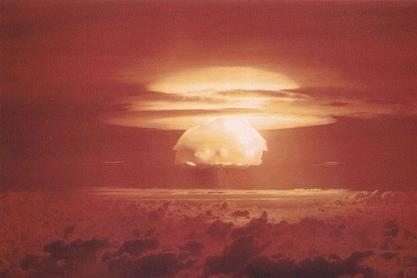 Castle Bravo nuclear weapons test on Bikini Atoll