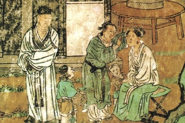 Yuan Taoist Temple mural