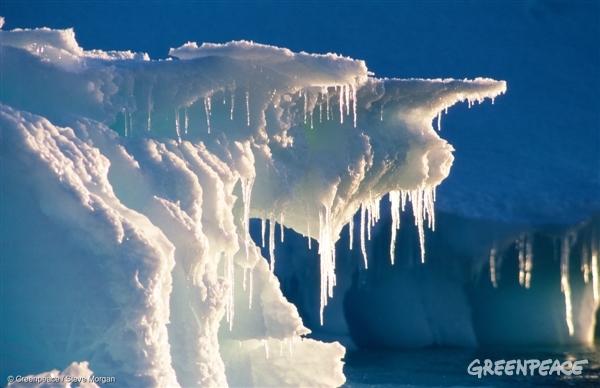 Melting iceberg in the Southern Ocean