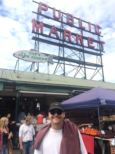 All smiles at Pike Place!