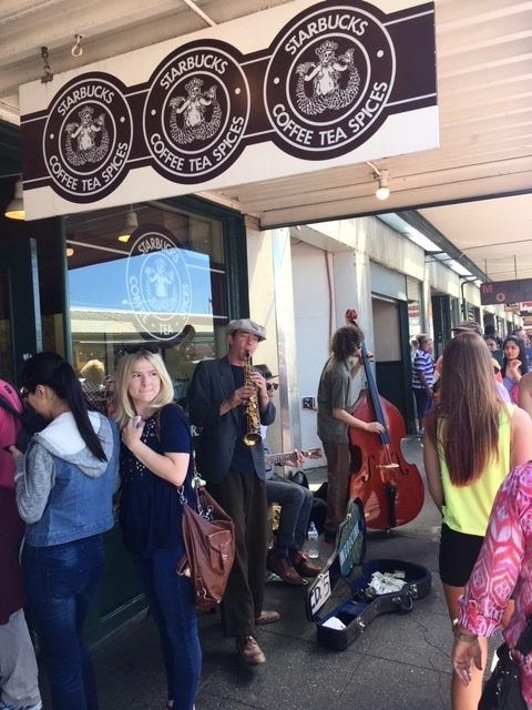 The first Original Starbucks! It's in Pike Place and opened in 1971. Which strangely doesn't seem old enough right?!