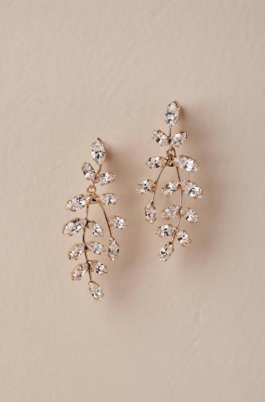 """Elizabeth Bower """"Farron Drop Earrings"""" - $250.00"""
