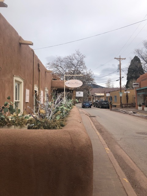 Canyon Road, lots of art galleries