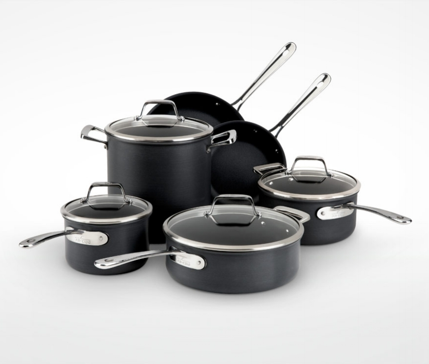 B3 Cookware    Client: All-Clad    All-Clad sought to reach a younger demographic of cooks with their B3 Anodized Aluminum line of cookware. For this launch, they enlisted Clabots to design cookware that would meet the visual and ergonomic needs of their more design-savvy audience, while maintaining an important balance with their iconic brand language.