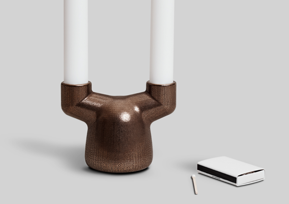 EE Candleholder Double   designed by  Everything Elevated