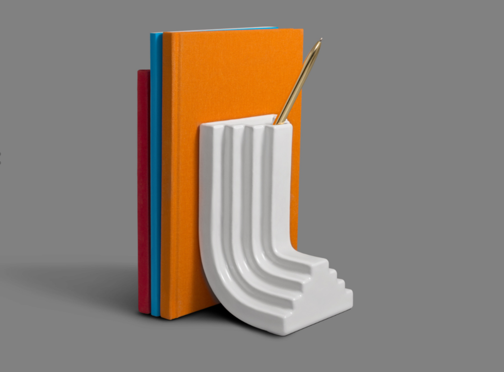 Carlo Bookend   designed by  Ini Archibong