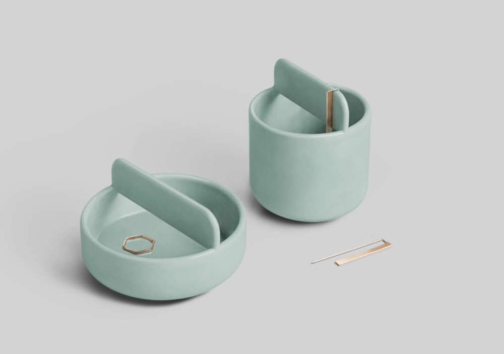 Trestle Bowl Set   designed by  Zoë Mowat