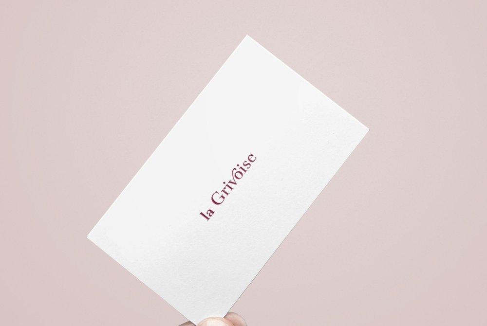 Client: La Grivoise   Branding, Creative Direction