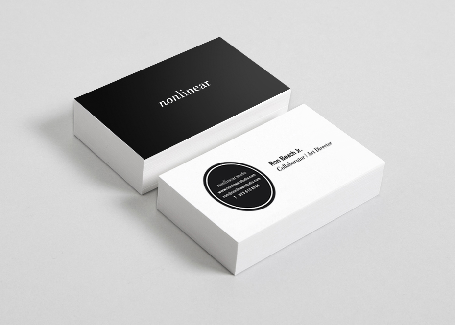 Client: Nonlinear   Branding, Art Direction, Packaging Design, Web Design