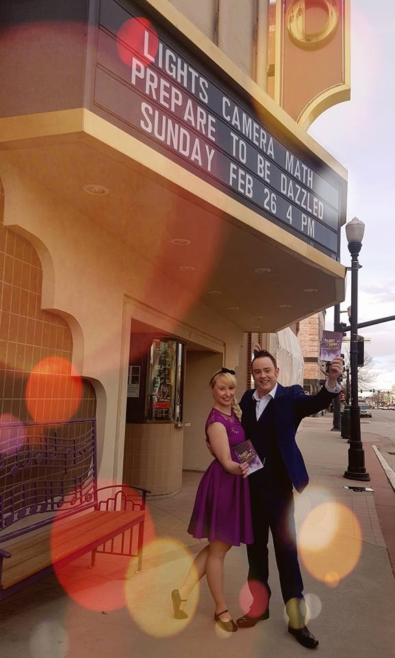 Caolan and Nicola Mc Bride in Sheridan, Wyoming.