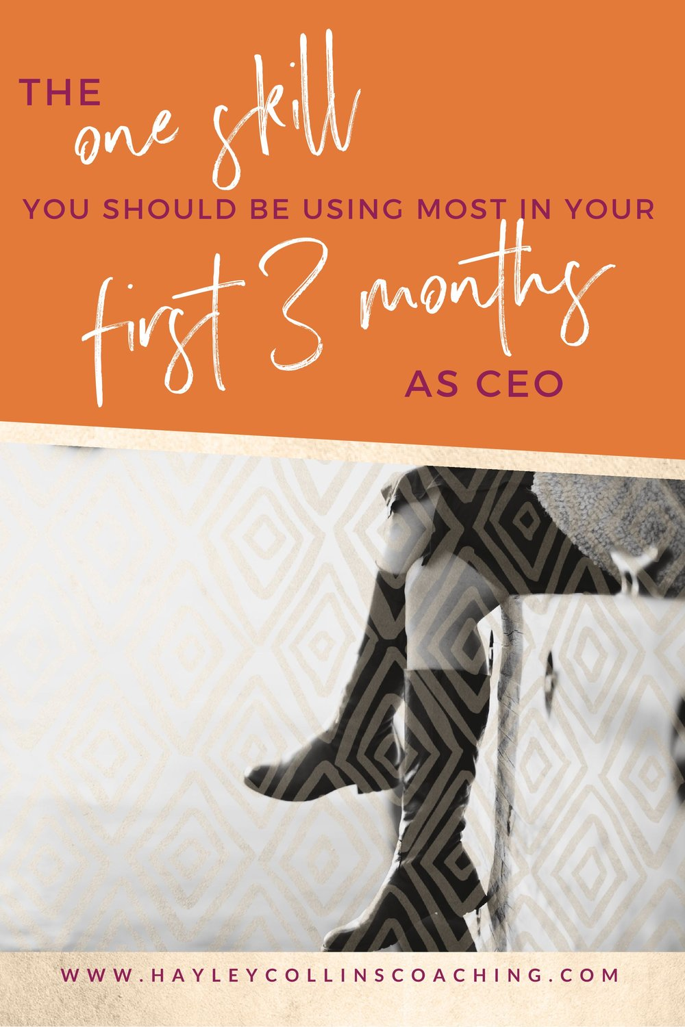 The one skill you should be using in your first 3 months as a CEO | Hayley Collins Coaching