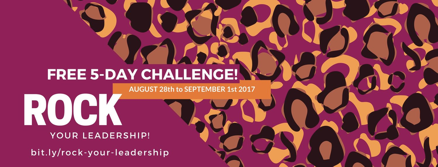 If you're ready to truly thrive in your role as CEO, I invite you to join the Rock Your Leadership Challenge.