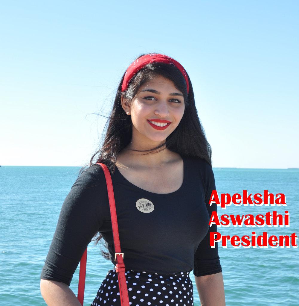 1Apeksha_Aswasthi_President.JPG