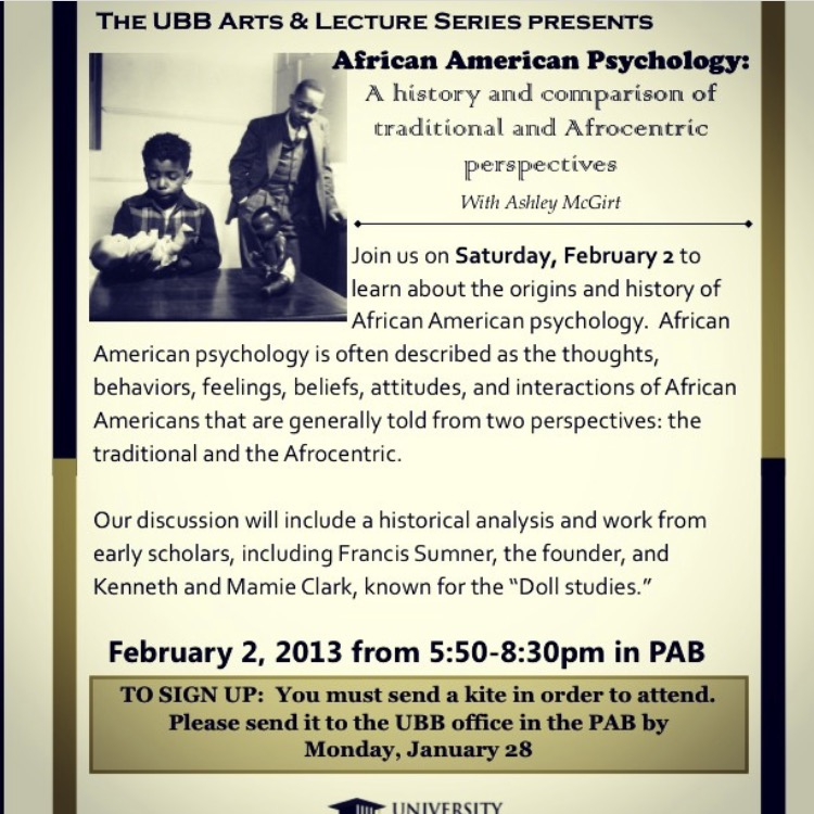 African American Psychology