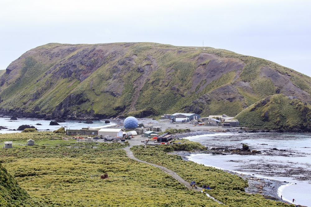 Australian Antarctic Division base- Macquarie Island