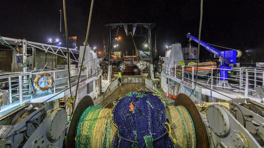 FV Otakou before leaving Picton