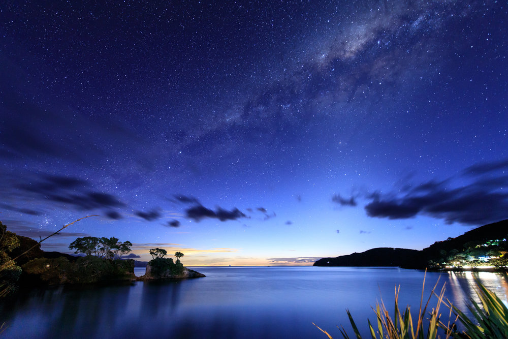 Tryphena, Great Barrier Island - Dark Sky Sanctuary