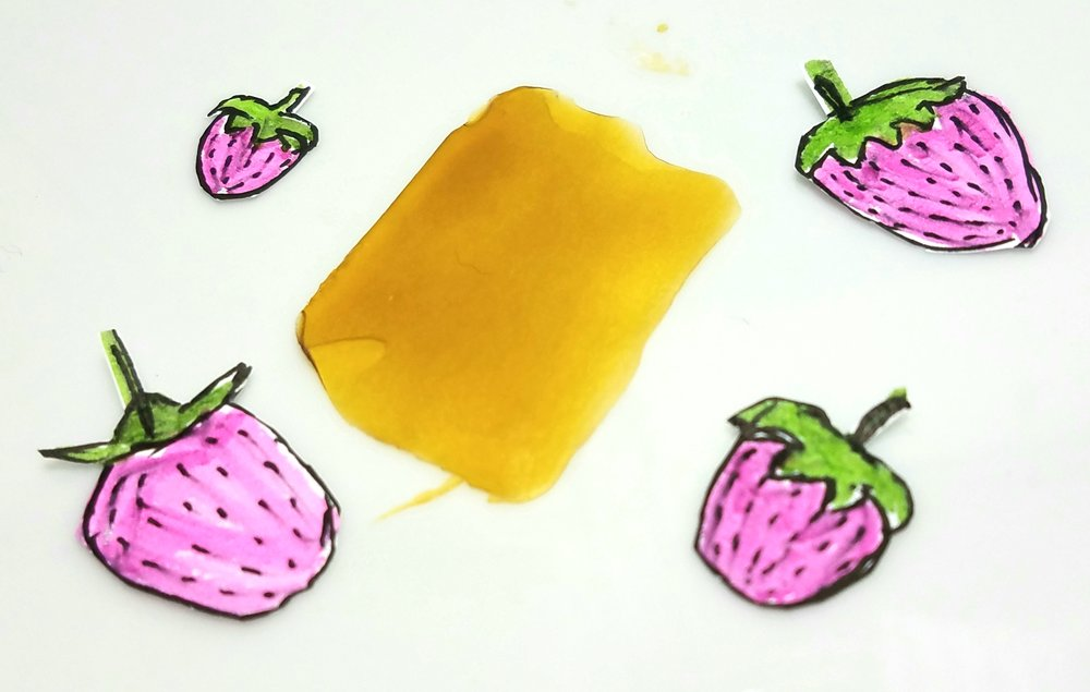 Strawberry Cough NR extract from White Label Extracts