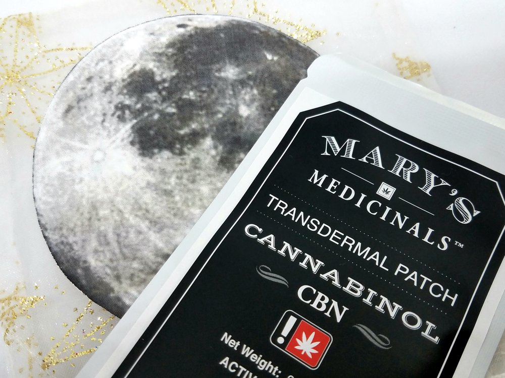 CBN Transdermal Patch produced by Mary's Medicinals