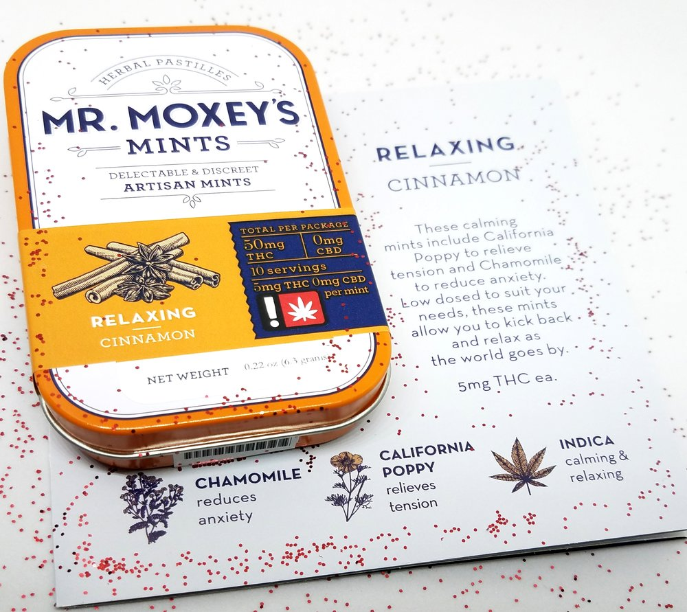 Cinnamon Mints from Mr. Moxey's Mints