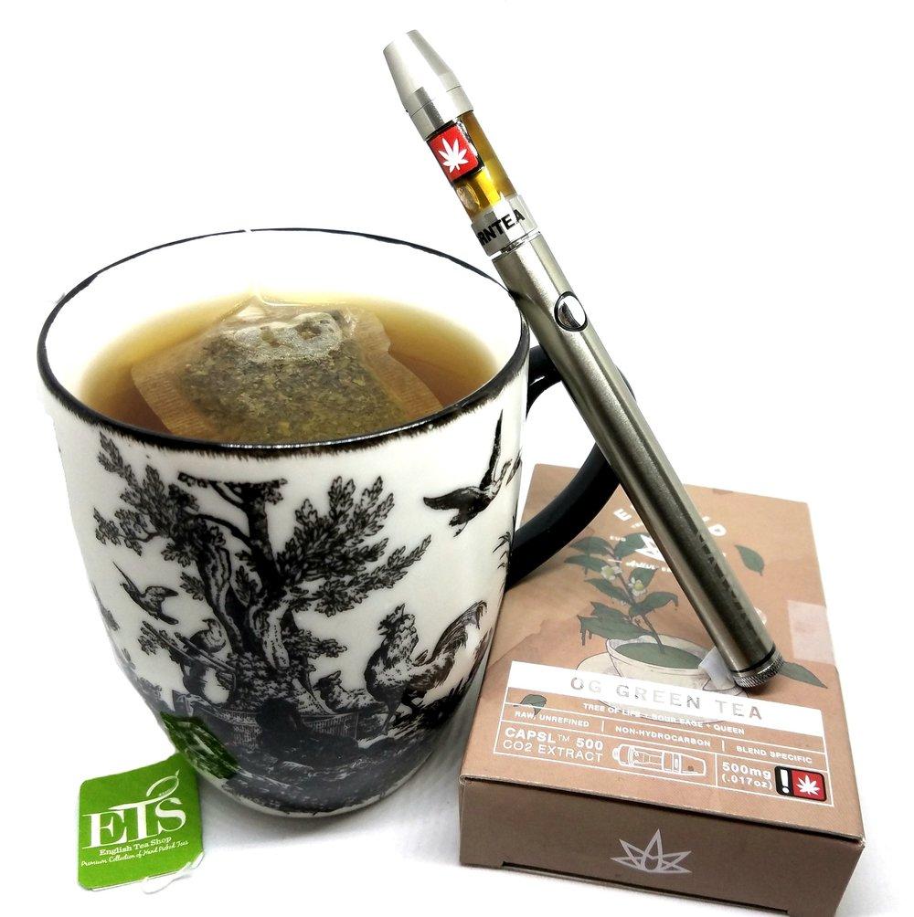 OG Green Tea cartridge from EVOLVD