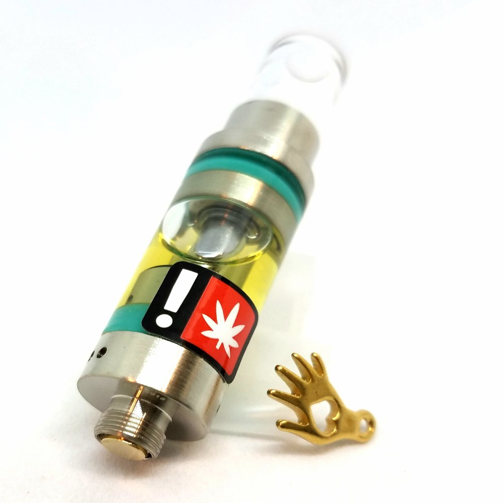 Jack Herer distillate cartridge produced by Orchid Essentials