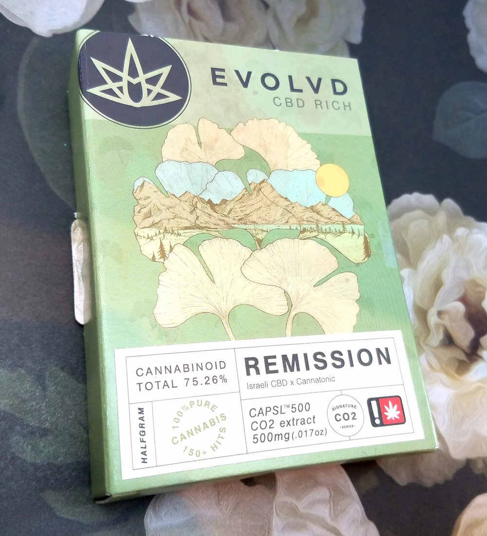 Remission 1/2g cartridge produced by EVOLVD