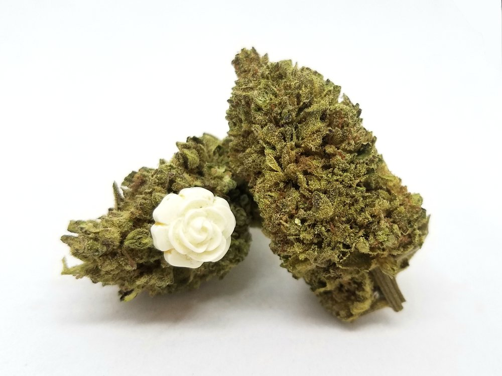 Rogue Valley Wreck flower grown by Hillside Herbs