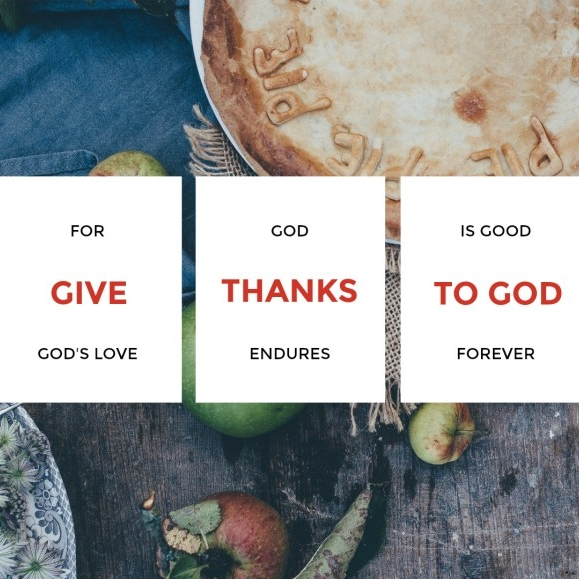 Practicing Gratitude in the Month of Thanks