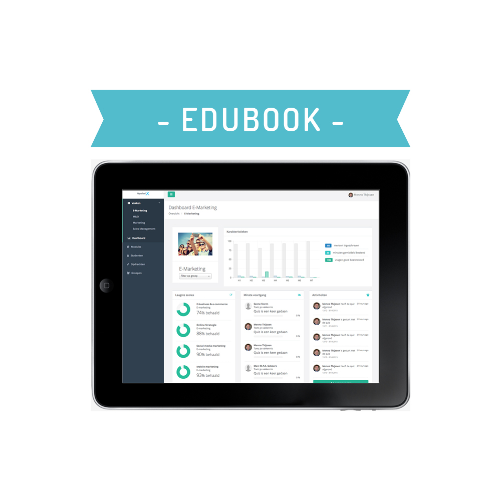 Edubook - Dashboard
