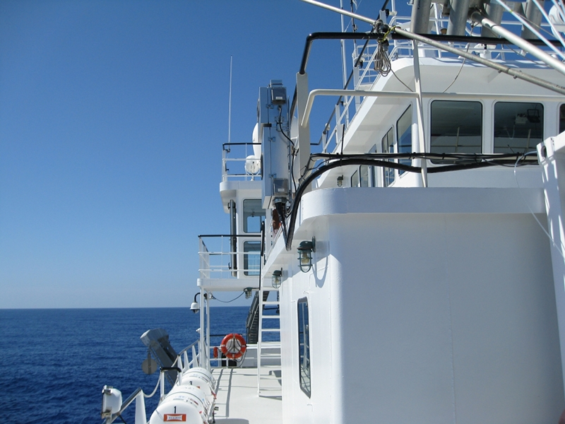Measuring Atmospheric Mercury in West Atlantic Ocean